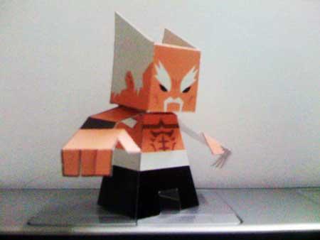 Tekken Papercraft Heihachi