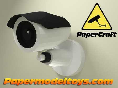 CCTV Papercraft