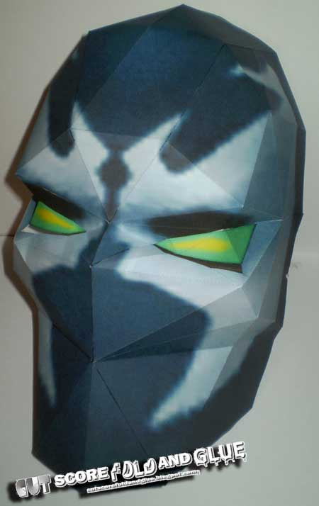 Spawn Mask Papercraft
