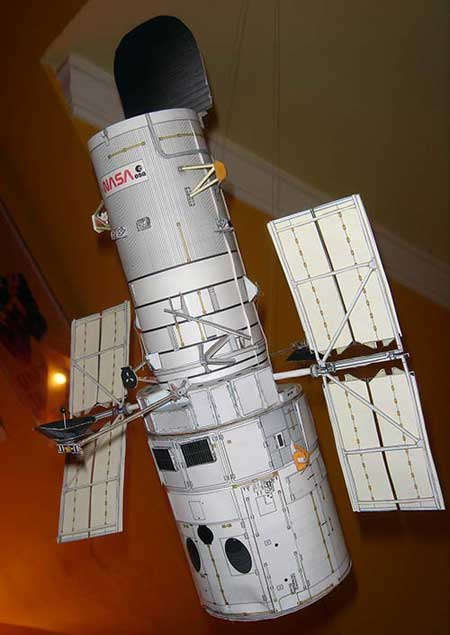 Hubble Space Telescope Papercraft