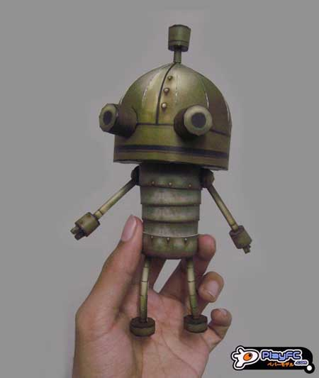 Machinarium Papercraft Josef the Robot
