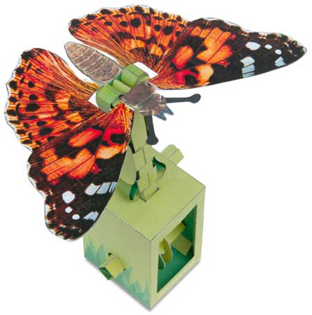 Moving Papercraft Butterfly