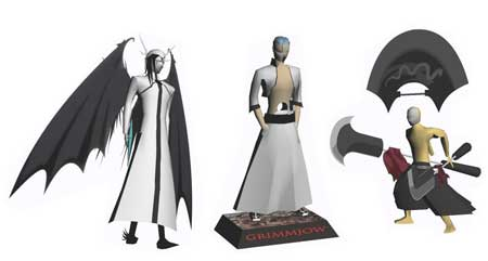 Bleach Papercraft