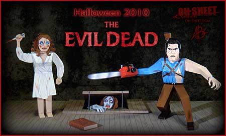 The Evil Dead Papercraft