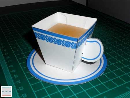 Teacup Papercraft