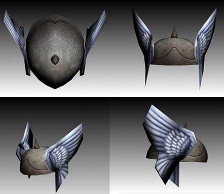 Thor Helmet Papercraft
