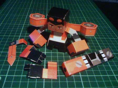 Generator Rex Paper Toy
