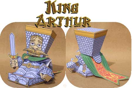 King Arthur Papercraft