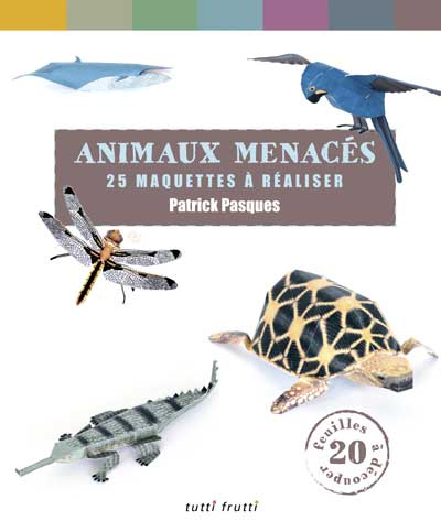 Endangered Animals Papercraft