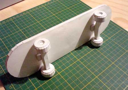 Skateboard Papercraft