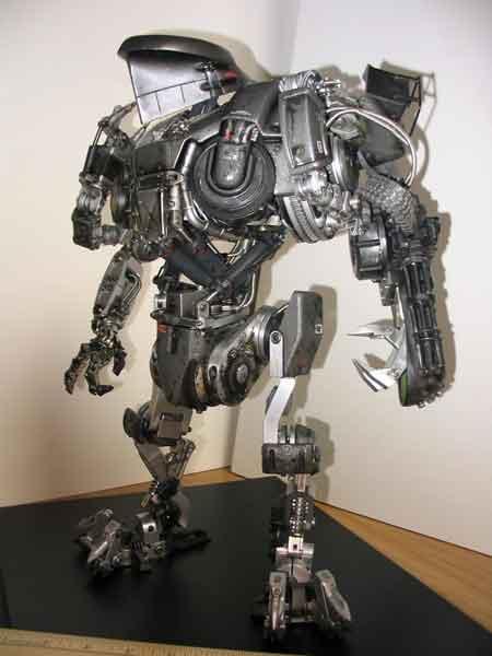 RoboCain Papercraft