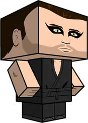 Nightman Papercraft