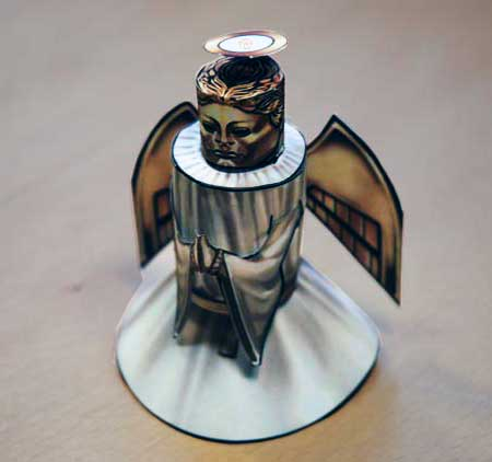 Doctor Who Heavenly Host Papercraft
