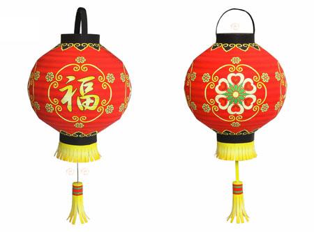 Chinese Lantern Papercraft