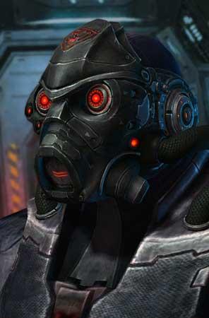 StarCraft 2 Spectre Papercraft Helmet