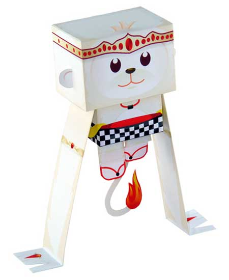 Kikoo Paper Toy - Hanuman