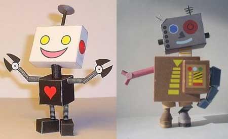 Microbot Papercraft 1 & 2