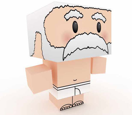 Design Your Own Santa Claus Papercraft