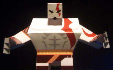 Kratos Papercraft