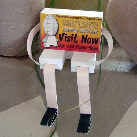 Plugger Paper Toy
