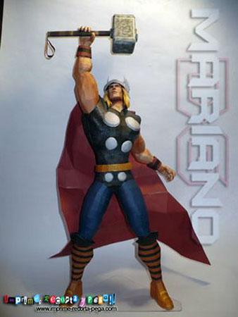 2011 Thor Papercraft