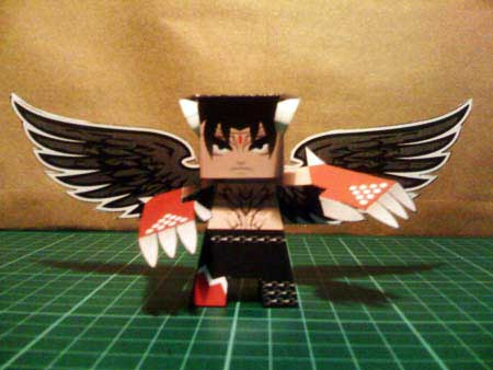 Tekken Devil Jin Papercraft