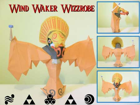 Wizzrobe Papercraft