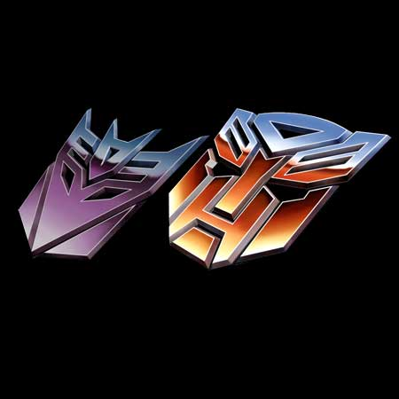 Transformers G1 Logo Papercraft