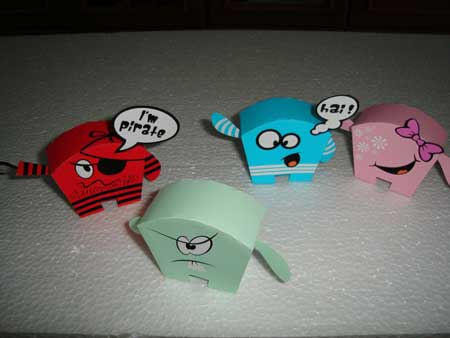 DLoo Paper Toy