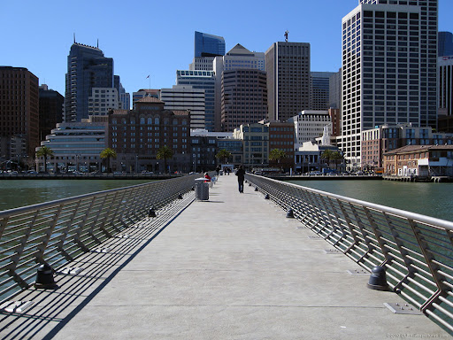 Along the Embarcadero from Pier 14