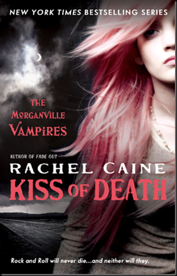 "News & Cover Art: Rachel Caine ""Kiss of Death"