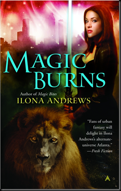 Review: Magic Burns (Kate Daniel #2) by Ilona Andrews