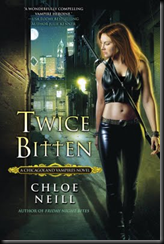 Back Cover for Twice Bitten by Chloe Neill