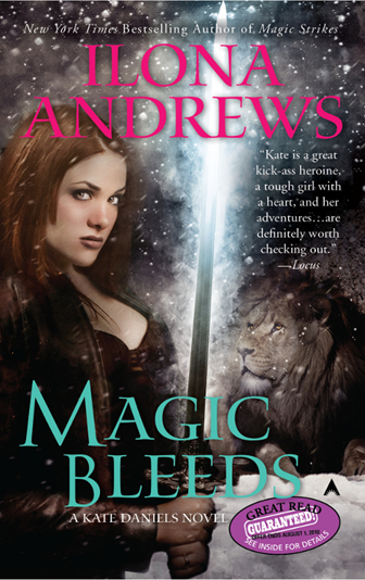 Cover Art: Magic Bleeds by Ilona Andrews