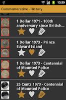 Screenshot of Canadian Coins