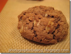 A finished cookie