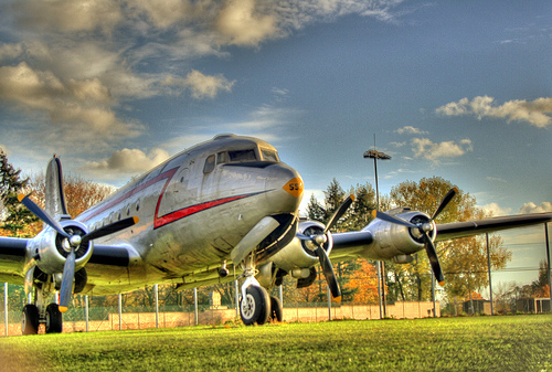 Aeroplane excellent HDR images
