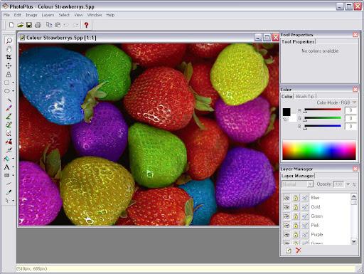 Serif PhotoPlus photo editor