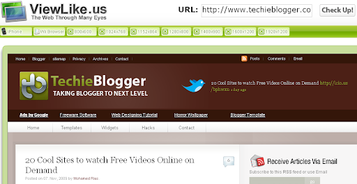 ViewLike.us - cross screen resolution checker