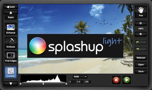 Splashup - image editing Tool