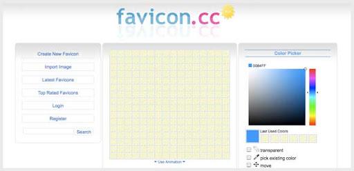 favicon.cc - Generate your own Favicon