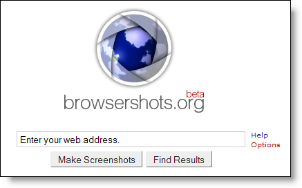 BrowserShots - check cross browser compatibility