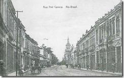 Rua Frei Caneca - 1902