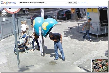Flagras do Google hugo
