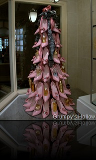 Guerlain High Heel Christmas Tree