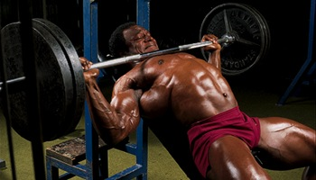 lee haney chest training routine