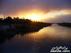 Sunset River Euphrate Deir Ezzor Www.dzodz.com Slideshow