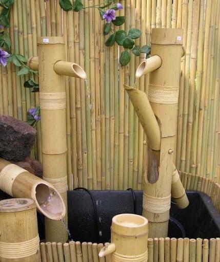 Fotos photos bamboo decoration decora o de bambu - Dekoration fotos ...