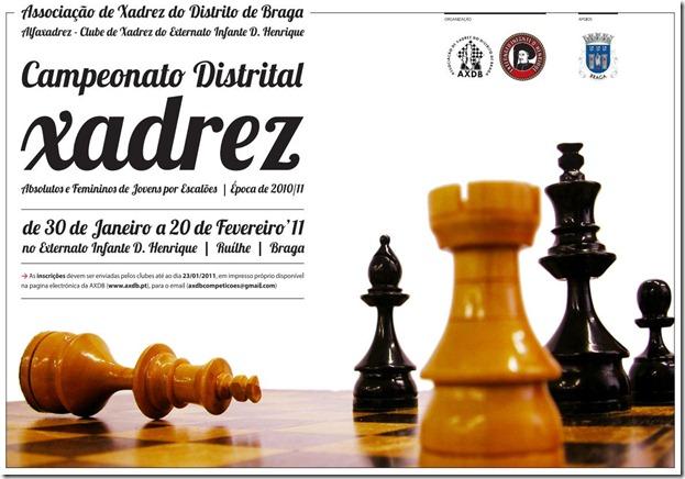Distrital Jovens 2010.11 cartaz