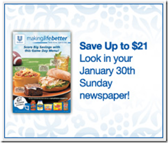 Unilever Coupon Insert